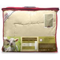 Одеяло Ol-tex 200х220 см шерсть мериноса/тик стеганое