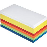 Карты модерационные для записей 95x205 мм разноцветные (прямоугольные, плотность 130 г/кв.м)