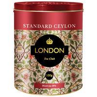 Чай подарочный London Tea Club Standard Ceylon листовой черный 100 г
