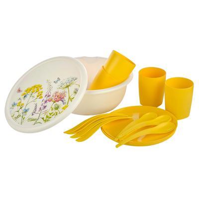 Набор посуды для пикника Plast Team Ohra 8 предметов (артикул производителя PT1088МТ-8)