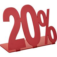 Подставка Attache 20% акриловая красная 205x175 мм