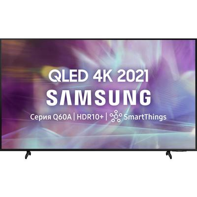 Телевизор Samsung QE43Q60AAUXRU черный