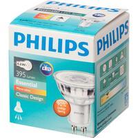 Лампа светодиодная Philips 4.6Вт GU10 спот 2700k теплый белый свет