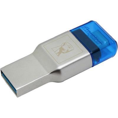 Картридер Kingston MobileLite Duo 3C (FCR-ML3C) серебристый