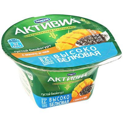 Йогурт Активиа манго-семена чиа 130 гр