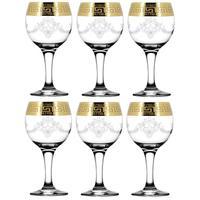 Набор фужеров для вина Барокко 200 мл (6 штук в упаковке)