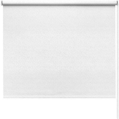 Рулонная штора Морзе белая (370x1600 мм)