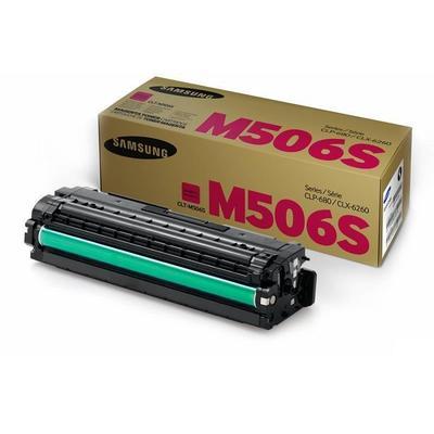 Тонер-картридж Samsung CLT-M506S SU316A пурпурный оригинальный