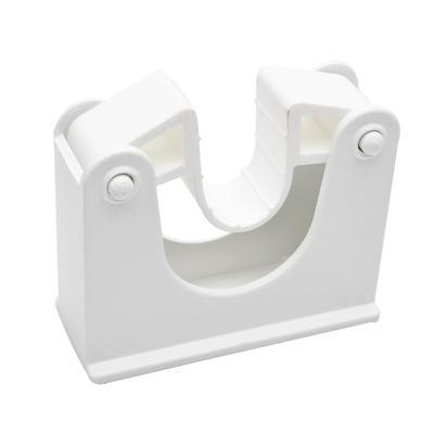Зажим Hillbrush для щеток и рукояток белый (артикул производителя HOLD 2 W)