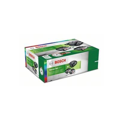 Набор базовый Bosch (PBA 18 2.5 Ач 2 штуки, AL1830, артикул производителя 1600A011LD)