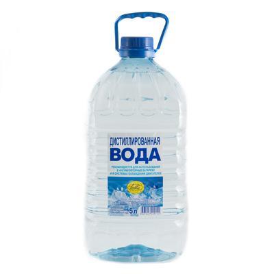 Дистиллированная вода Телла 5 л