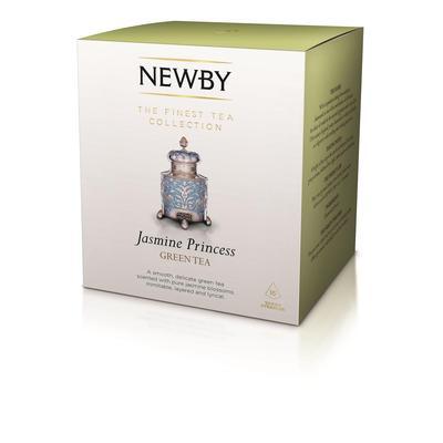Чай Newby Jasmine Princess зеленый с жасмином 15 пакетиков