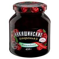Варенье Лукашинские вишневое без косточки 450 г