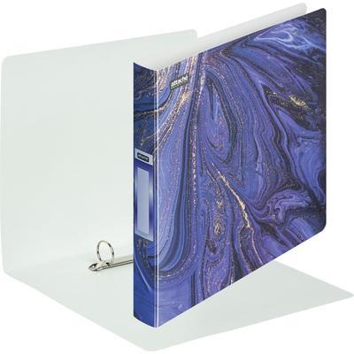 Папка на 2-х кольцах Attache Selection Fluid 35 мм фиолетовая до 300 листов (пластик 0.5 мм)