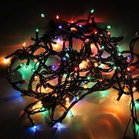 Электрогирлянда линия разноцветный свет 140 микроламп (4.3 м)