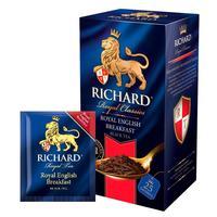 Чай Richard Royal English Breakfast черный 25 пакетиков