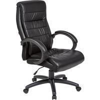Кресло для руководителя Easy Chair 648 TPU черное (искусственная кожа, пластик)