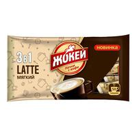 Кофе порционный Жокей 3 в 1 Мягкий 50 пакетиков по 12 г