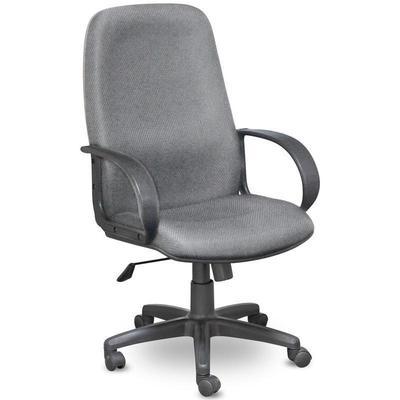 Уценка. Кресло для руководителя Easy Chair 625 TJP серое (ткань/пластик). уц_меб