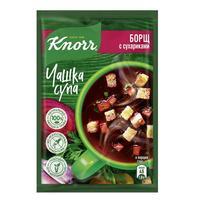 Суп Knorr борщ с сухариками 30 штук по 14.8 г
