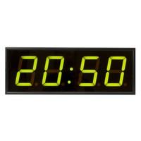 Часы настенные Импульс Электронное табло 410-EURO-G-ETN-NTP (44x16x6 см)