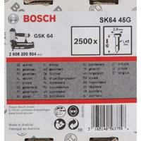 Гвозди Bosch для гвоздезабивателя GSK 64 45х2.8х1.45мм (2500 штук, артикул производителя 2608200504)