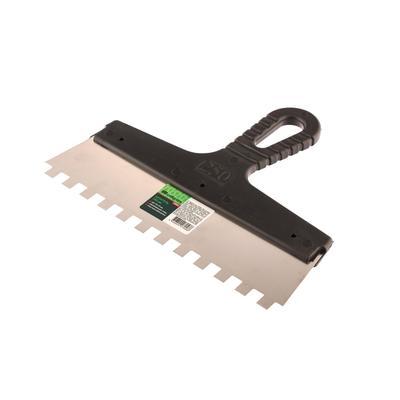 Шпатель зубчатый Сибртех нержавеющая сталь 250 мм (85500)