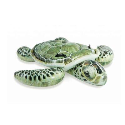 Матрас надувной Intex Плотик настоящая черепаха 191x170 см