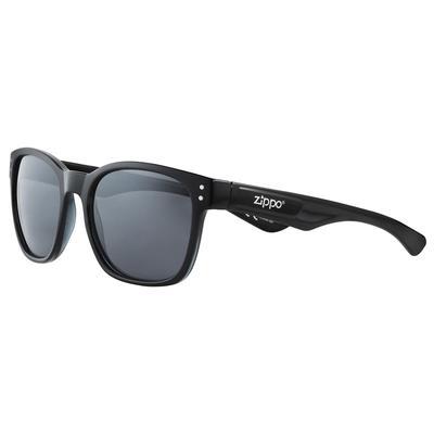 Очки солнцезащитные в чехле Zippo черные (OB68-08)