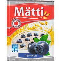 Каша Matti овсяная с черникой 6 штук по 40 г