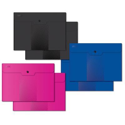 Папка-конверт на кнопке Attache Selection Digital A4 180 мкм (6 штук в упаковке)