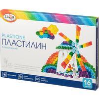 Пластилин Гамма Классический 16 цветов 320 г со стеком