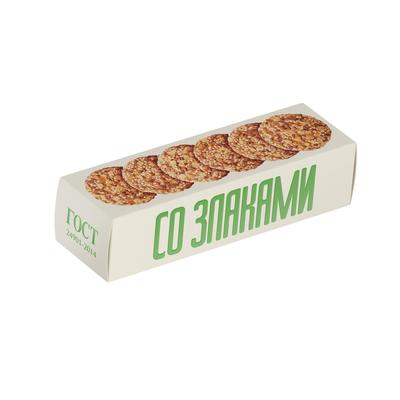 Печенье овсяное Полет классическое со злаками 250 г
