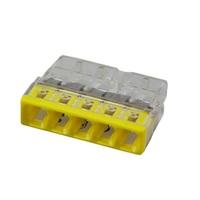 Клемма Wago 2273-205 5-проводная (6 штук в упаковке)