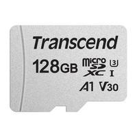 Карта памяти 128 ГБ micro SDXC Transcend TS128GUSD300S-A Class 10 UHS-I U3