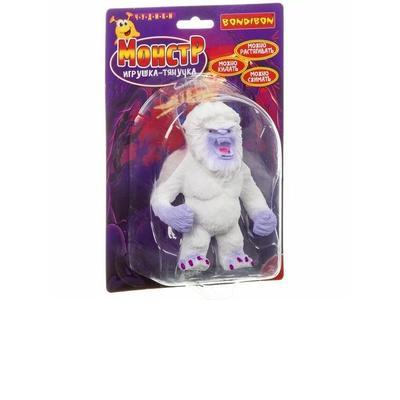 Игрушка-антистресс (сквиш) Bondibon Чудики Монстр снежный человек