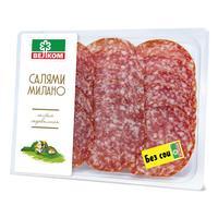 Колбаса Велком Салями Милано сыровяленая нарезка 150 г