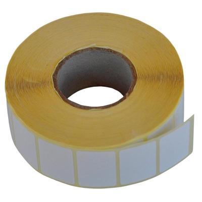 Термотрансферные этикетки полуглянец,30х20мм,2000 этикеток в рулоне, втулка 40мм (490232)