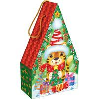 Новогодний сладкий подарок Полосатик 1000 г (с игрой)