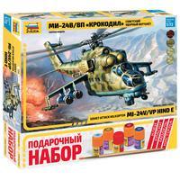 Сборная модель Звезда Вертолет Ми-24 В/ВП Крокодил