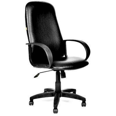 Кресло для руководителя Chairman 279 черное (искусственная кожа, пластик)