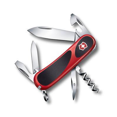 Нож перочинный Victorinox Evolution красный/черный 10 85 мм 13 функций нержавеющая сталь/пластик