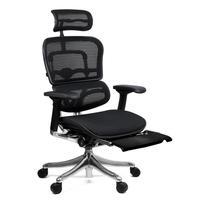 Кресло для руководителя Ergohuman Legrest KMD-31 черное (сетка, металл)