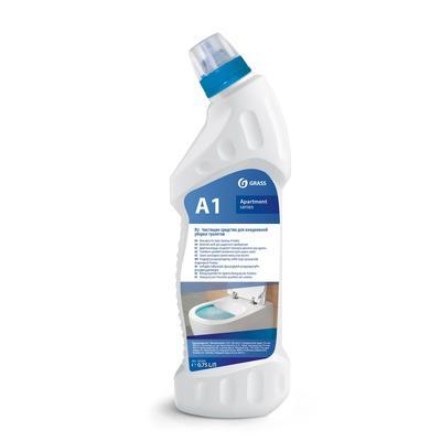 Моющее средство для ежедневной уборки туалетов Grass А1 0.75 л (концентрат)