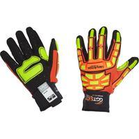 Перчатки рабочие с защитой от ударов/порезов и проколов HexArmor GGT5 Mud Series 4021х (размер 10, XL)