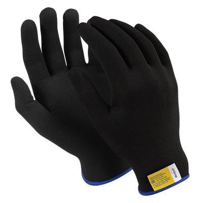 Перчатки рабочие Manipula Микрон Блэк TNY-25/MG102 нейлон (15 класс, размер 10, XL, 10 пар в упаковке)