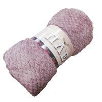 Плед Belezza Valira микрофибра 140x200 см темно-розовый