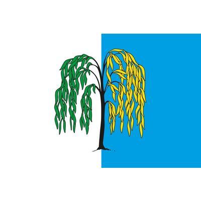 Флаг Ивнянского района Белгородской области 1000x1500 мм