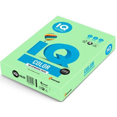 Бумага цветная для печати IQ Color зеленая пастель MG28 (А4, 160 г/кв.м, 250 листов)