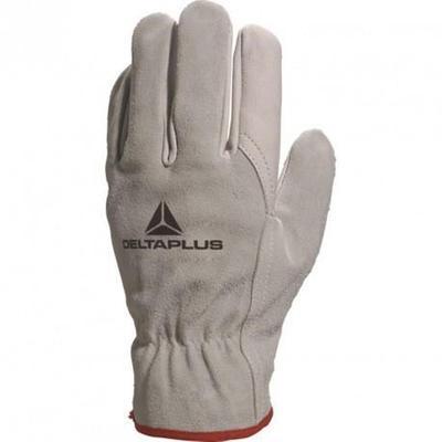 Перчатки рабочие Delta Plus FCN29 кожа бежевые (размер 9, L)